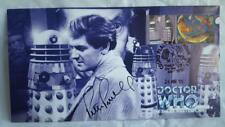 DR/DOCTOR WHO  - THE DALEK MASTER PLAN - AUTOGRAPHED COMMERATIVE STAMP COVER