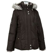 New Free Country Power Down Series BROWN Jacket Women's Sz S