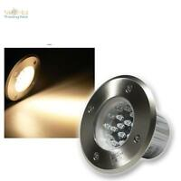 LED Projecteur Encastré au sol Luminaire de spot encastrable plancher IP67 Inox