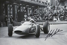 John Surtees Hand Signed 12x8 Photo Scuderia Ferrari F1 1.