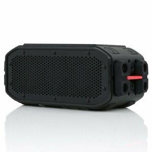 Braven BRV-Pro + Solar Bluetooth Rugged Wireless Speaker Black/Red- Free P&P