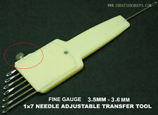 1X7 Needle Adjustable Transfer Tool 3.6mm SK830 370 270 FRP70 FRJ80 KH120 KR120