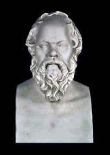 "Greek Philosopher Socrates bust 21"" Museum Sculpture Replica Reproduction"
