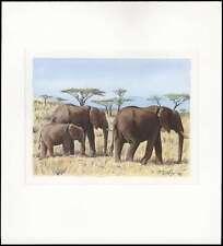 Uganda, Afrikanischer Elefant Nr. 960 Original  (1790101308 P)
