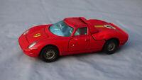Original Corgi Toys Rare Ferrari Berlinetta 250 Le Mans Vintage Red Diecast Car