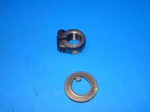PORSCHE 944 951 TURBO S2 968 924S 928 WHEEL HUB TO SPINDLE MOUNTING NUT & WASHER
