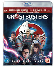 Ghostbusters Blu-ray 3d Extended Edition Bonus Disc 2016 &