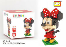 Disney Minnie Mouse LNO BLOCK Micro Mini Building Nano Block LOZ Iblock Toy Gift