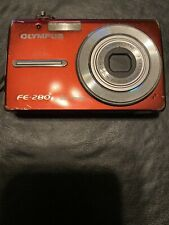 Olympus FE FE-280 8.0MP Digital Camera - Red