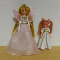 BANDAI Sailor Moon Neo Queen Serenity Chibiusa Doll Figure 90's Vintage JAPAN