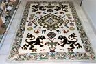 Arraiolos rugs embroidered in wool with beautiful dogs foo origin Portugal