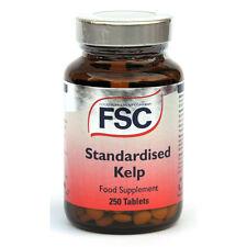 FSC extracto de algas normalizada 250 Tabletas