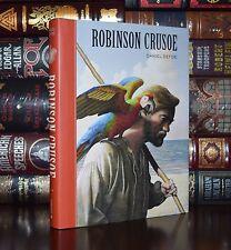 Robinson Crusoe by Daniel Defoe Unabridged Brand New Gift Hardcover Edition