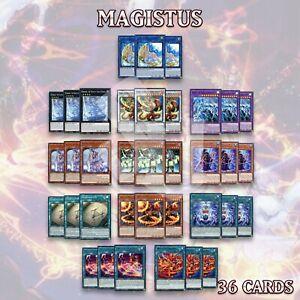 MAGISTUS DECK 36   Artemis Ninaruru Vahram Aiwass Crowley Rilliona GEIM YuGiOh