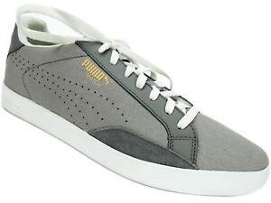 PUMA Women's Match Lo Canvas Sport Sneakers FG-Vaporous Gray-PC Size 11 M