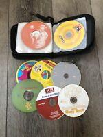 Lot Bundle 12 Kids Toddler Children's Music CDs Audio Books Learning Dancing
