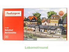 Auhagen 11418, Bahnhof Barthmühle, Bausatz Spur H0, neu, OVP
