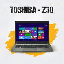 "TOSHIBA PORTEGE Z30 13.3"" INTEL CORE i7 6th GEN 8GB RAM 256GB SSD WINDOWS 10"