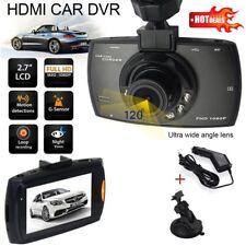 "HD 1080p Dash Cam grand angle de vision nocturne DVR Voiture 2.4"" LCD Caméra UK G Sensor"