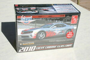 1/25 2010 CAMARO SS/RS COUPE INDY 500 PACE CAR CURBSIDE KIT MOLDED IN SILVER