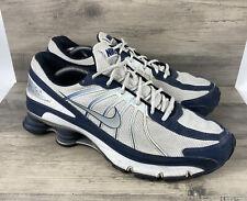 Nike Shox Turbo VII 7 White Athletic Running Shoes 324907-103 Mens US Size 13