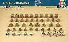 Italeri 1/72 Antitank Obstacles Set Ita556147