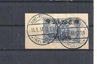 Landespost in Belgien, 1914 Michelnummer: 9 o, gestempelt, Katalogwert € 20,00