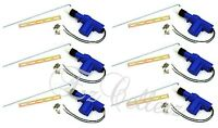 UNIVERSAL **SET OF 6** Power Door Lock Actuator 2 Wire BEST QUALITY BRAND NEW
