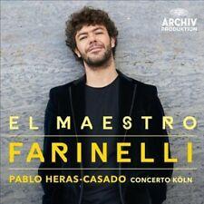 Heras-Casado / Concerto Koln - El Maestro Farinelli [New CD]