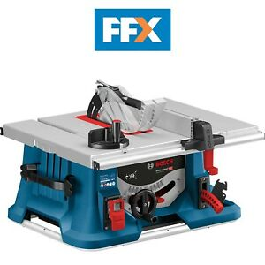 Bosch GTS635-216 240V 1600W Table Saw Cutting Height 70mm With Blade