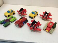 TRANSFORMERS ARMADA Happy Meal Toys Figure LOT x8, Hasbro McDonalds 2002