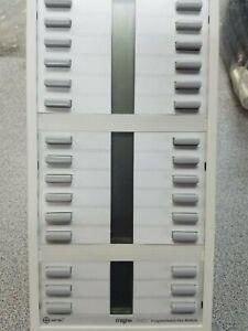 Mitel Superset MILINK PKM 30 (9112-200-000) 30 Button Mod RARE Light Gray - New