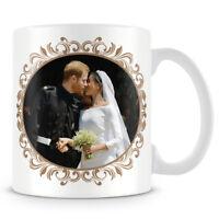 HRH Prince Harry & Ms Meghan Markle Wedding Day Kiss - Coffee Mug