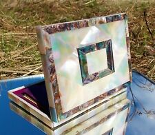 More details for rare 8th earl of mayo mother of pearl and abalone & aide memoire card case