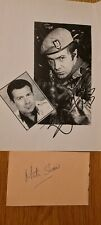 More details for lewis collins and martin shaw   original  autographs. the professionals