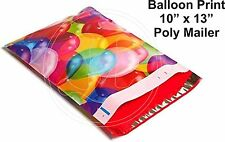 New listing (30) 10 X 13 Birthday Balloons Designer Mailers Poly Shipping Boutique