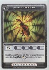 2008 Chaotic Trading Card Game - Silent Sands Base Set #65 Web Cocoon Gaming 1v3