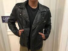H&M Divided Bikerjacke Jacke Lederjacke Lederimitat Biker Gr. L schwarz wie NEU