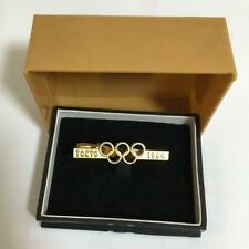 TOKYO OLYMPIC 1964 VINTAGE COLLECTIBLE SPORTS RARE JAPAN RETRO TIE PIN GOLD