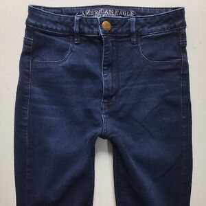 Ladies AMERICAN EAGLE OUTFITTERS SKY HIGH JEGGINGS Jeans W28 L31 Size 10 (848L)