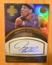Jerome Williams 2013-14 Panini Innovation Foundations Ink Gold Auto #D /25