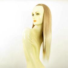 Demi-tête, demi-perruque 60cm blond clair cuivré blond clair ref 014 en 27t613