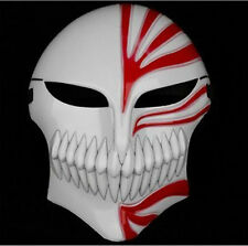 Bleach Kurosaki Ichigo Bankai Anime Figure Resin Full Hollow Mask Halloween Prop