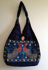 Indian Handicrafts Ethnic Elephant Jhola Hand Bag Festival Style Travel College