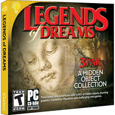 Legends Of Dreams 3 Pack PC Games Windows 10 8 7 XP hidden object seek & find