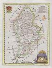 1786 Elegant Kitchin Map of Staffordshire