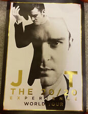 Justin Timberlake 20/20 Experience Tour Poster - Limited - Numbered