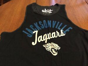 Jacksonville Jaguars NFL Ladies medium tank top