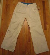 NWT White Grenade SnowBoard Ski Snow Pants Bright Blue & Black Pinstripes M med