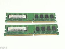 Mémoires RAM Hynix, 1 Go par module avec 2 modules